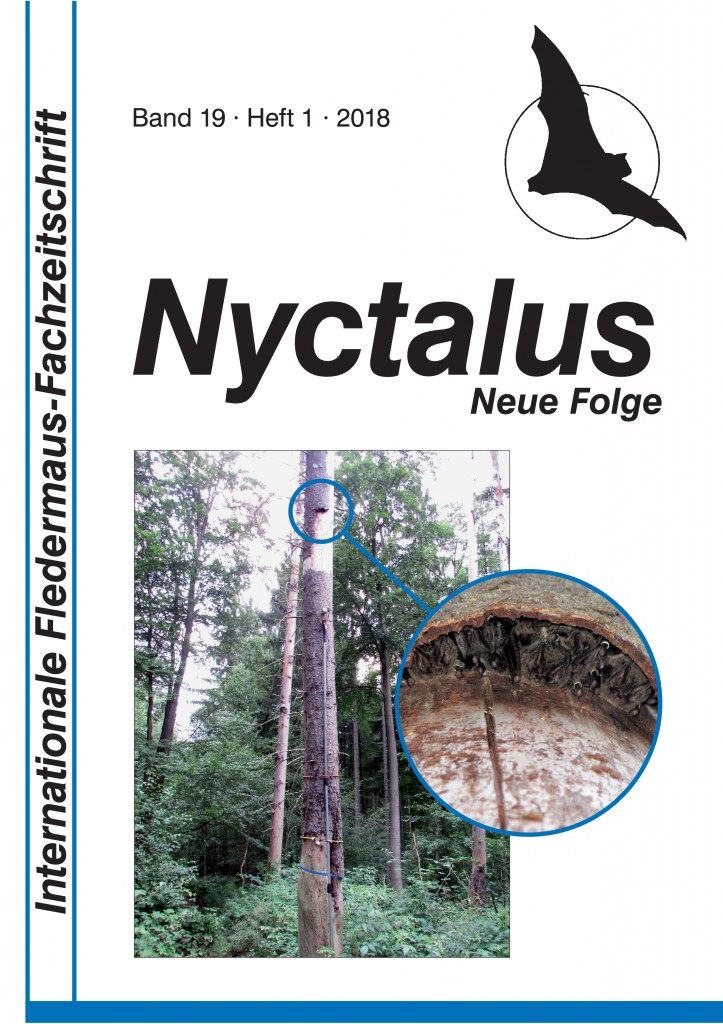 Umschlag Nyctalus 2018