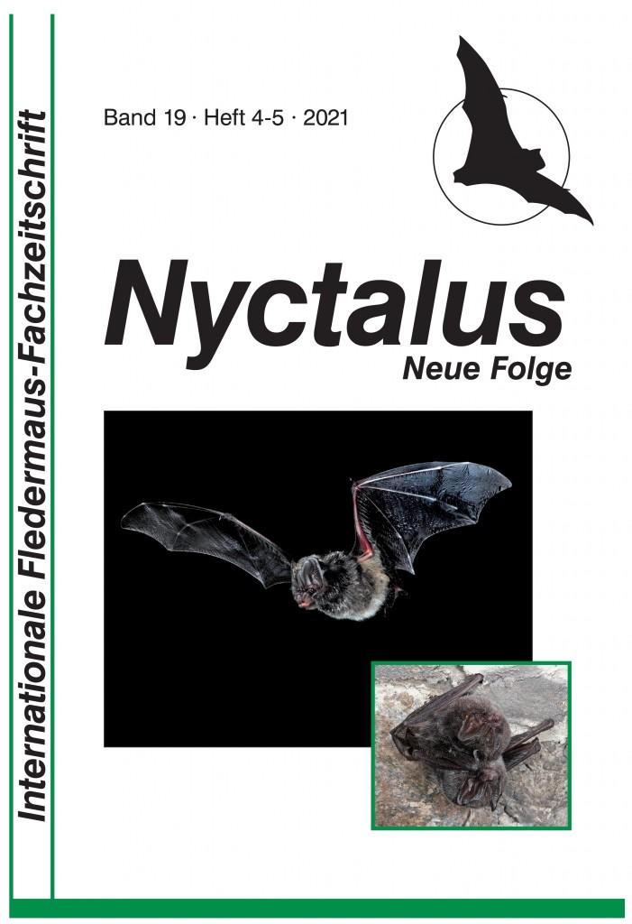 Umschlag Nyctalus 2021, Heft 4-5 Titel