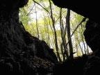 Blick aus der Ankenberghöhle (Foto: B. Ohlendorf)