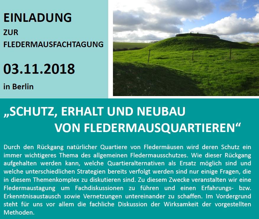Tagung Berlin Fledermausquartier_Nov 2018